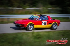 Hans Hölzlberger,Fiat X 1/9,BJ:  1975, 1300 ccm,Startnummer :  149