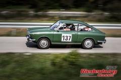 Hartmuth Adam,Fiat 850 Sport Coupe,BJ:  1970, 850 ccm,Startnummer :  137