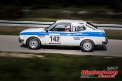 Detlef Bayer,Fiat 128 Coupe,BJ:  1972, 1300 ccm,Startnummer :  142