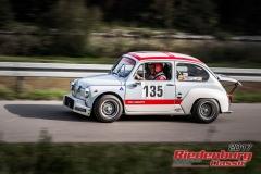 Walter Schneider,Fiat Abarth TC,BJ:  1967, 1036 ccm,Startnummer :  135