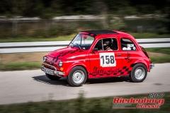 Barbara Märkl,Fiat 500,BJ:  1972, 650 ccm,Startnummer :  158