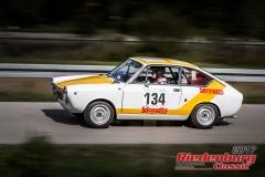 Thomas Strohmeier,Fiat Abarth OTS,BJ:  1966, 1000 ccm,Startnummer :  134