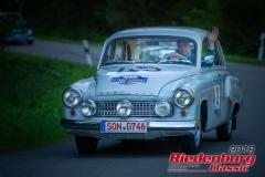 Nico Zitzmann, Wartburg 311, BJ: 1958, 1000 ccm, StNr: 002