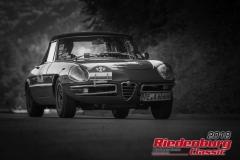 Heinz Seine,  Alfa Duetto,  BJ: 1969, 1300 ccm,  StNr: 008