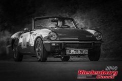 Tom Rinsland,  Triumph Spitfire,  BJ: 1972, 1300 ccm,  StNr: 010