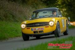 Helmut Hofmann, Triumph TR 6, BJ: 1976, 2500 ccm, StNr: 074
