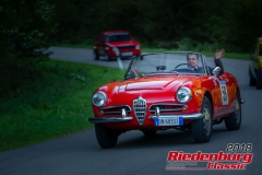 Aldo Cota, Alfa Spider, BJ: 1963, 1300 ccm, StNr: 059