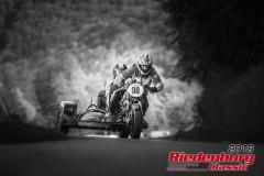 Josef Saller/ Monika Saller, Ducati 900 SSD Gespann, BJ: 1978, 900 ccm, StNr: 098