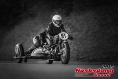 Dr. Gisbert Nierle/ Florian Weinretter, BMW R 50 Gespann, BJ: 1955, 500 ccm, StNr: 091