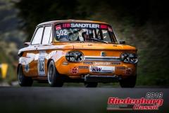 Leo Rabus, NSU TT, BJ: 1970, 1300 ccm, StNr: 105