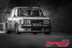 Wolfgang Schuster, Simca Rallye II, BJ: 1974, 1295 ccm, StNr: 132