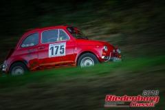 Barbara Märkl, Fiat 500, BJ: 1979, 1995 ccm, StNr: 175