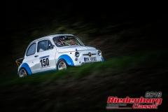 Dieter Silberhorn, Fiat Abarth 695 SS, BJ: 1966, 695 ccm, StNr: 150