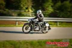 Josef Traubinger, BMW R 51, BJ: 1938, 500 ccm, StNr: 195