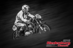 Roland Demnick,  Honda CB R,  BJ: 1974, 250 ccm,  StNr: 227