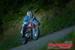 Hermann Dittrich,  Honda CB,  BJ: 1975, 250 ccm,  StNr: 229