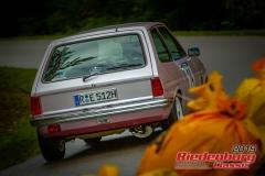 Ford FiestaBJ:  1978, 1100 ccmManfred Eibl,  ObertraublingStartnummer:  014