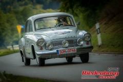Wartburg 311BJ:  1958, 1000 ccmNico Zitzmann,  SteinachStartnummer:  003