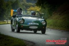 Austin Healy Sprite MK IIBJ:  1962, 948 ccmKurt Polegek,  Au / HallertauStartnummer:  004