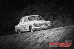 Wartburg 311 BJ:  1958, 1000 ccm Nico Zitzmann,  Steinach Startnummer:  003