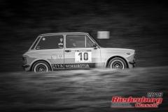 Abarth A 112 BJ:  1976, 1036 ccm Ulrich Spicker,  Friedberg Startnummer:  010