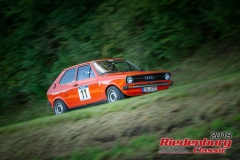 Audi 50 BJ:  1976, 1100 ccm Matthias Much,  Bad Tölz Startnummer:  011