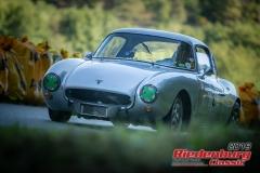 DKW Monza BJ:  1957, 1000 ccm Klaus Haynl,  Garmisch-Partenkirchen Startnummer:  002