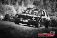 VW Polo BJ:  1980, 1300 ccm Hans Edelhäuser,  Itzgrund/Kaltenbrunn Startnummer:  016