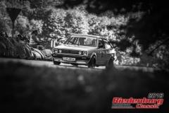VW Polo Coupe GT BJ:  1982, 1300 ccm Helmut Dostler, Waldersdorf Startnummer:  019