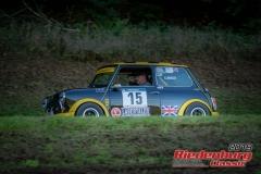Mini Cooper BJ:  1979, 1083 ccm Hansrainer Lindner,  Bad Abbach Startnummer:  015