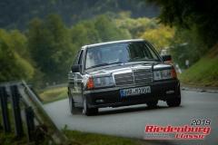 Mercedes Benz 190 EBJ:  1984, 1997 ccmMatthias Rübmann,  ZweiflingenStartnummer:  045