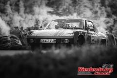 VW-Porsche BJ:  1973, 2000 ccm Edmund Fuchs,  Traitsching Startnummer:  028