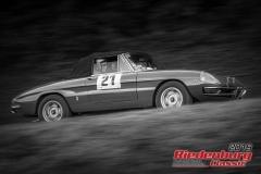 Alfa Duetto BJ:  1969, 1750 ccm Heinz Seine,  Haltern am See Startnummer:  021