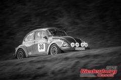 VW Käfer 1303 BJ:  1973, 1900 ccm Michael Ringenberg,  Schweig Startnummer:  030