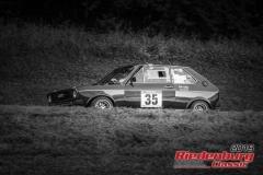 Audi 50 BJ:  1977, 1600 ccm Markus Casper,  Schnaittenbach Startnummer:  035