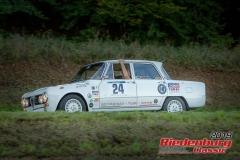 Alfa Romeo Giulia Super BJ:  1969, 2000 ccm Marcus Spiridigliozzi,  Lauf Startnummer:  024