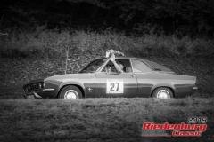 Opel Manta A BJ:  1972, 1900 ccm Gerhard Lang,  Zweiflingen Startnummer:  027