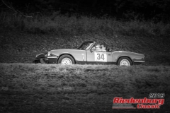 Triumph Spitfire MK 4 BJ:  1977, 1600 ccm Andreas Zacherl,  Erding Startnummer:  034