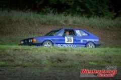 Scirocco BJ:  1978, 1760 ccm Christian Spagl,  Roding Startnummer:  036