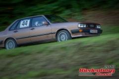 Audi 80 quattro BJ:  1983, 2144 ccm Florian Zeussel,  München Startnummer:  044