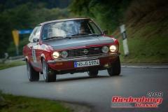 Opel Manta ABJ:  1974, 2200 ccmHarald Glöckner,  WallersteinStartnummer:  061