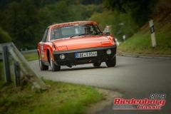 Porsche 914BJ:  1973, 2400 ccmRüdiger Hartmann,  PoingStartnummer:  059