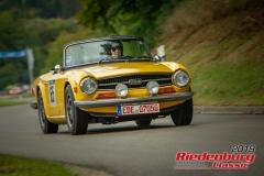 Triumph TR 6BJ:  1979, 2050 ccmHelmut Hofmann,  ZornedingStartnummer:  065