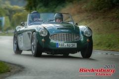 Austin Healy MK I BJ:  1959, 3000 ccm Siegbert Schmitz,  Dietfurt Startnummer:  051