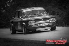 NSU TTS BJ:  1970, 1300 ccm Harald Kürzdörfer,  Schwabach Startnummer:  097