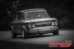 NSU TT BJ:  1971, 1300 ccm Karl Rössler,  Markt Redwitz Startnummer:  104