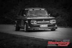 NSU TT BJ:  1971, 1600 ccm Hans Einfalt,  Heilsbronn Startnummer:  105