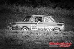 NSU TT BJ:  1971, 1150 ccm Dieter Kohl,  Roth Startnummer:  106