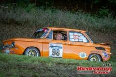 NSU TT BJ:  1970, 1300 ccm Leo Rabus,  Schwanstetten Startnummer:  098