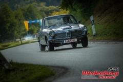 BMW 1600 GTBJ:  1968, 1600 ccmKlaus Butschek,  RegensburgStartnummer:  115